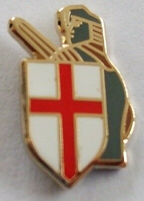 England St. George & Shield Crusader English Knight Pin badge