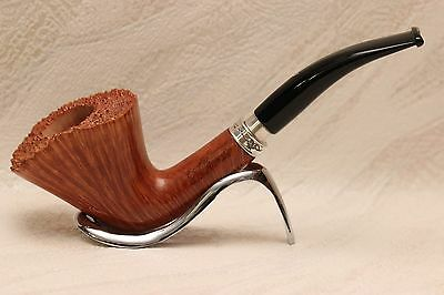 Pfeife, Pipe, LUIGI VIPRATI Collection, Hand Made Italy,925 Silber, 9 mm Filter
