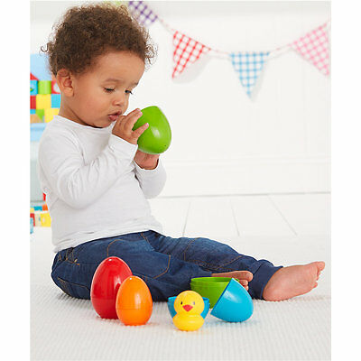 New ELC Boys and Girls Nesting Eggs Toy From 9 months