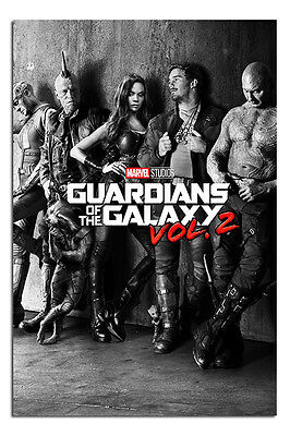 """Guardians Of The Galaxy Vol 2 Black & White Teaser Poster - Maxi Size 36 x 24"""""""