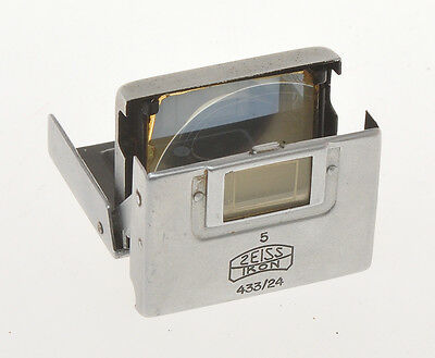 Zeiss Ikon Albada finder 433/24 for 50mm for Contax RF cameras