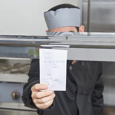 "44"" Stainless Steel Wall Mount Silver Restaurant Ticket Rod Holder Food Service"