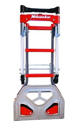 *NEW* Milwaukee 2 in 1 Convertible Fold Up Truck Folding Hand Push Cart Trolley