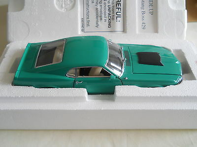 Danbury Mint 1970 Ford Mustang Boss 429 Limited Edition 159/5000 1:24 w/ Box