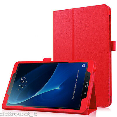 Cover Book Samsung Galaxy Tab A 10.1 2016 6 T585 T580 A6 Custodia Case Magnetica