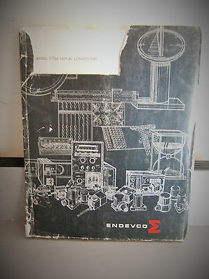 Endevco Model 2775A Signal Conditioner Instruction Manual