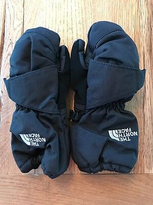 North Face Toddler Mittens Black Size 2T