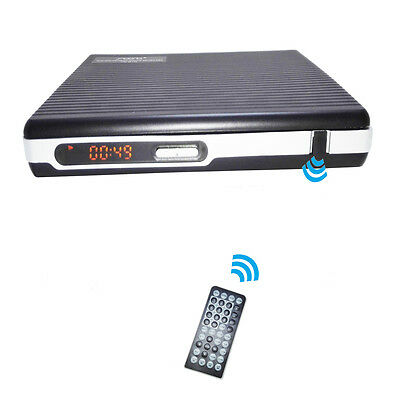 NEW Home portable DVD VCD CD MP4 player without screen USB earphone port DC12V