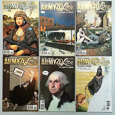 Complet Set: ARMY @ WAR (Vertigo, 2008) #1 to #6