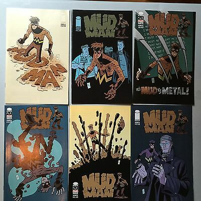 Complet Set: MUDMAN (Image, 2011) #1 to #6   By Paul Grist