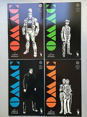 Complet Set: OMAC: One Man Army Corps (1991) - By JOHN BYRNE - #1 to #4