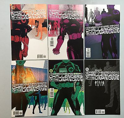 Complete Set: Challengers of the Unknown (DC, 2004) #1 to #6, by Howard Chaykin