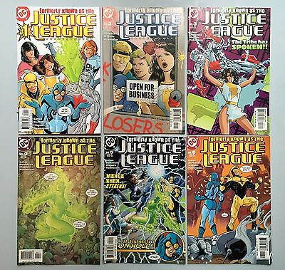 Complete Set: FORMERLY KNOWN AS THE JUSTICE LEAGUE (DC Comics 2003) #1 to #6