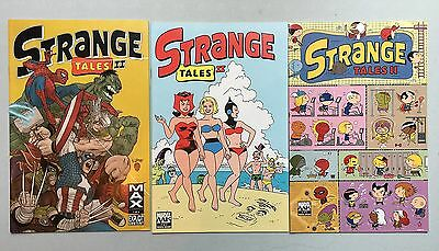 Complete Set: STRANGE TALES II (Marvel, 2010) #1 to #3