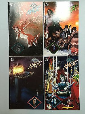Complete Set: THE BOOKS OF MAGIC (DC Comics, 1994) #1 to #4, by Neil Gaiman