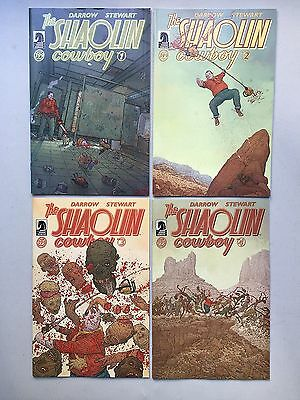Complete Set: THE SHALOLIN COWBOY (Dark Horse Comics, 2013) #1 to #4