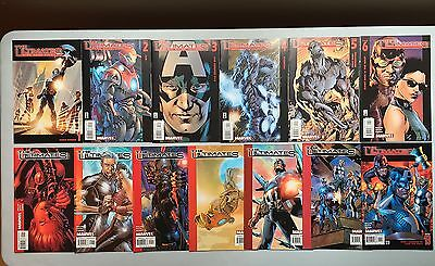 Complete Set: THE ULTIMATES (Marvel, 2002) #1 to #13