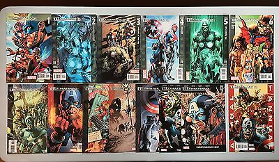 Complete Set: THE ULTIMATES II 2 (Marvel, 2005) #1 to #13 + Annual #1