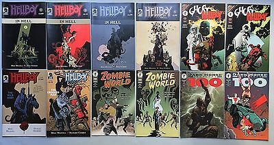 Nice Lot of 14 Comics by MIKE MIGNOLA: Hellboy, Zombie World and more