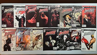 Nice Run of 15 x DAREDEVIL (Marvel, 1998) #56 to #70, by Brian Michael Bendis