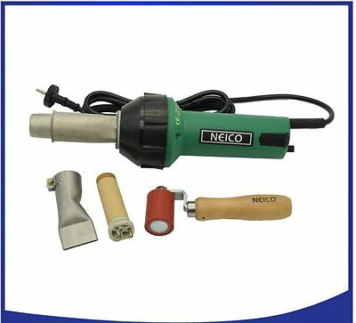 110V / 230V 1600W Hot Air Welding Gun With 40mm Silicon Pressure Roller Weld No