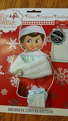The Elf on the Shelf Claus couture  Collection capelet set LIMITED EDITION