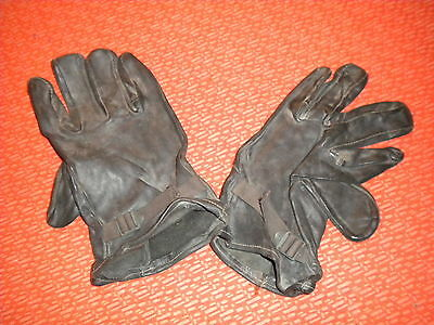 U.S.ARMY :GLOVE SHELLS LEATHER,KOREA WAR ., M-1949 size 5  LARGE   ---