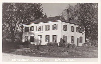 """RP; NAUVOO, Illinois, 1950's; The """"Mansion House"""""""