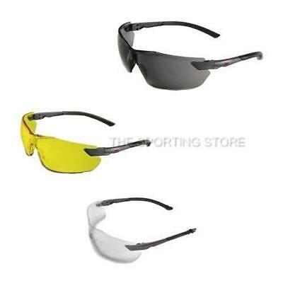 3M Classic Shooting Glasses in Yellow, Smoke or Clear