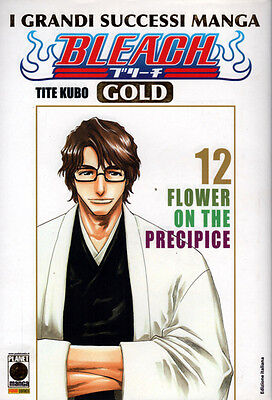 manga BLEACH Nr. 12 GOLD Deluxe NUOVO Sconto 50% Ed. Panini Planet