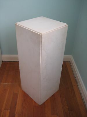 Contemporary Marble Display Pedestals - 2 available