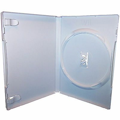 25 X Nintendo Wii White Replacement Game Cases - Pack of 25