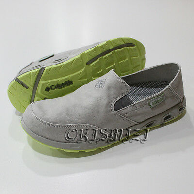 "New Mens Columbia ""San Salvador"" Canvas Omni-Grip Techlite Water Boat Shoes"