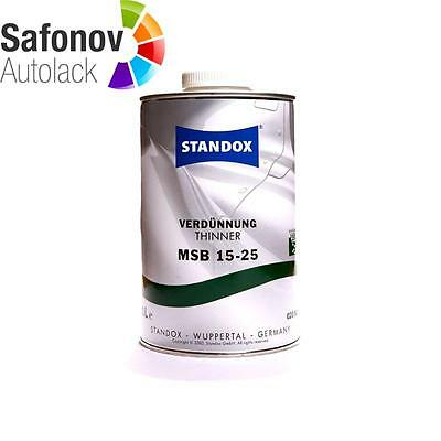 Standox MSB Dilution 15 25 1 LITRE (for Base Coat) 02082608