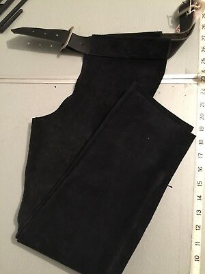 Gibbins Suede Full Chaps Brown Size 3