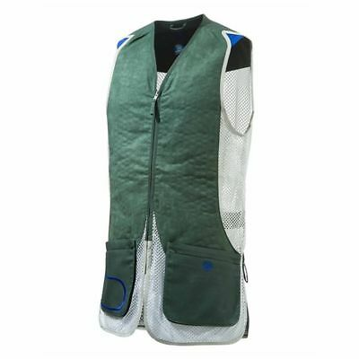 Beretta DT 11 Shooting Vest In Green / Silver Left /Right Handed
