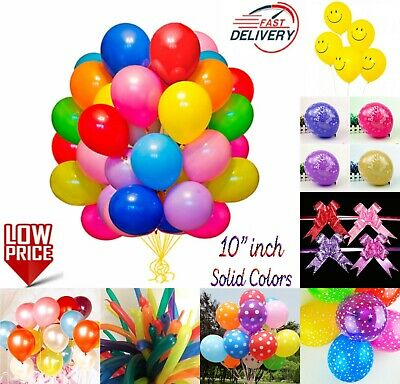 WHOLESALE JOBLOT BALLOONS Latex BULK PRICE High Quality Any Occasion BALLONS