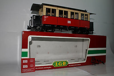 LGB G SCALE #31610 PERSONENWAGEN KB4i DR PASSENGER COACH CAR, EXCELLENT, BOXED