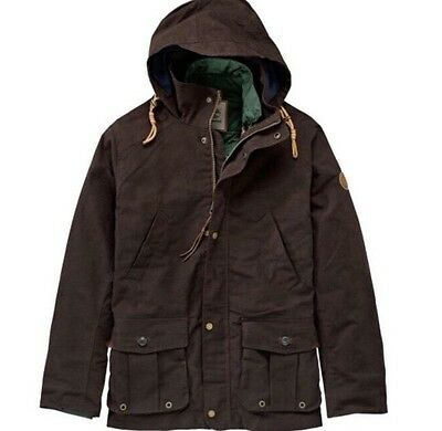 $298 TIMBERLAND MEN'S MOUNT DAVIS 3-IN-1 WAXED CANVAS JACKET Sz. L