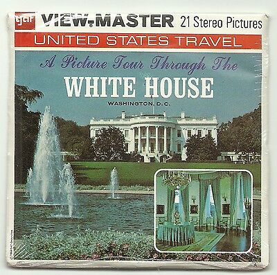Viewmaster A 793 The White House Washington DC G3-G4-G5 Never Opened
