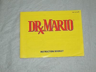 dr mario (  nes) manual only good 2