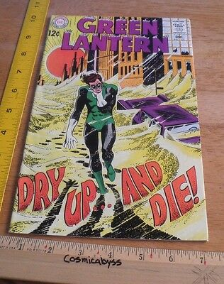 Green Lantern 65 comic 1960's Silver Age VF HIGH GRADE 12 cent book