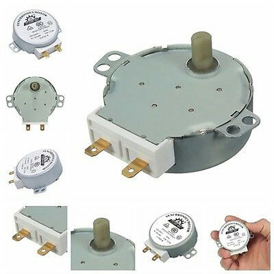 CW/CCW Microwave Turntable Turn Table Synchronous Motor TYJ50-8A7D Shaft 4RPM nb