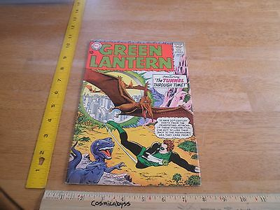 Green Lantern 30 comic 1960's Silver Age VF 12 cent Tunnel through time cover