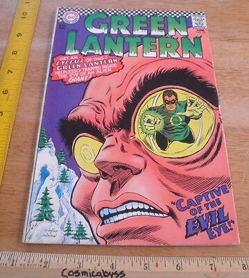 Green Lantern 53 comic 1960's Silver Age F/VF 12 cent Evil Eye