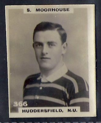Pinnace Football-Black Oval Back-#0366- Rugby -Huddersfield. N.u. - S. Moorhouse