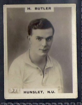 Pinnace Football-Black Oval Back-#0371- Rugby - Hunslet. N.u. - H. Butler