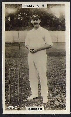 PHILLIPS-CRICKET ERS BROWN BACK F192-#057c- SUSSEX - AE RELF