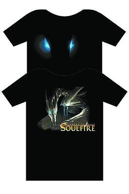 Soulfire T-Shirt Dragon Eyes Black Xl Xtra Large New Never Worn Or Washed Turner