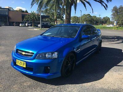 2010 Holden Commodore VE SS Blue Automatic A Sedan